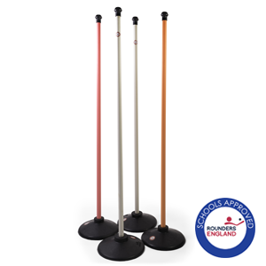 Aresson Plastic Coloured Rounders Post Set